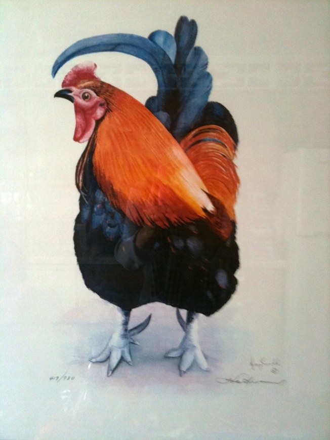 Rooster Painting that I found in Sante Fe, NM