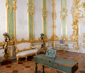 The green room in the winter palace.