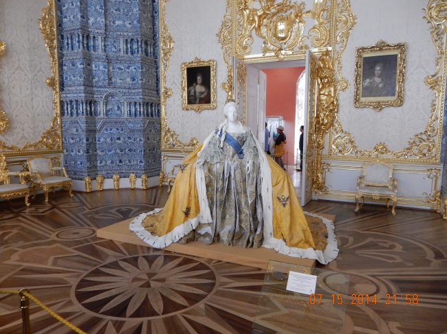 One of Catherine the Great's gowns
