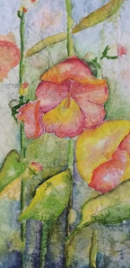 "Barbara's Morning Glories 6"" X 4"" Deep Canvas"