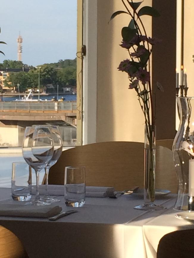Breakfast at the Hotel Hilton Slussen, in Stockholm, Sweeden
