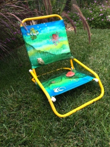 Childs beach chair
