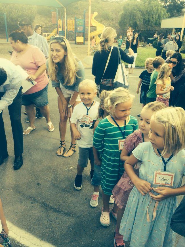 Starting kindergarden