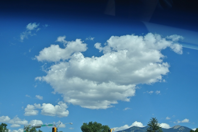 Clouds in Santa Fe