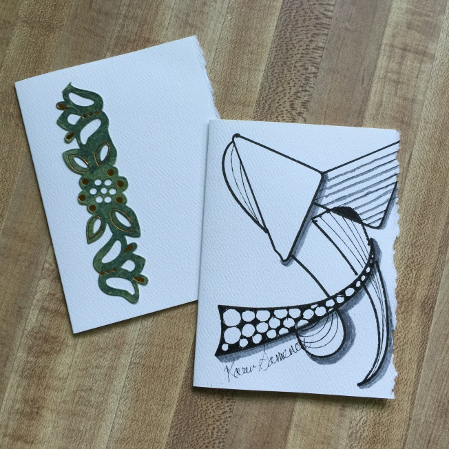 Doodled Greeting Cards