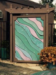 LaRetta Small-Zamora's front gate