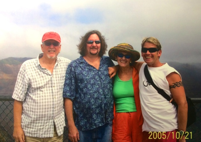 Les, Chris, Karen, Dennis