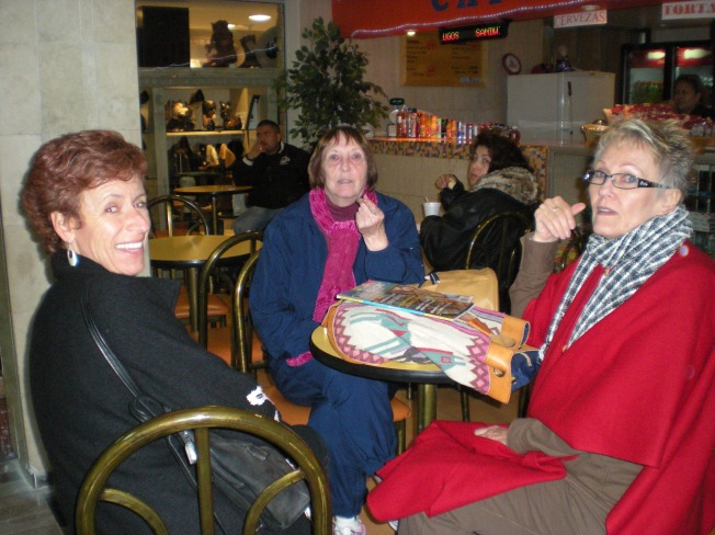 Karin de Baay, Barbara Thuro, & myself on right in San Miguel de allente