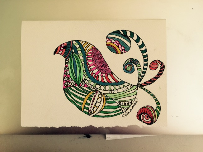 Doodling Bird