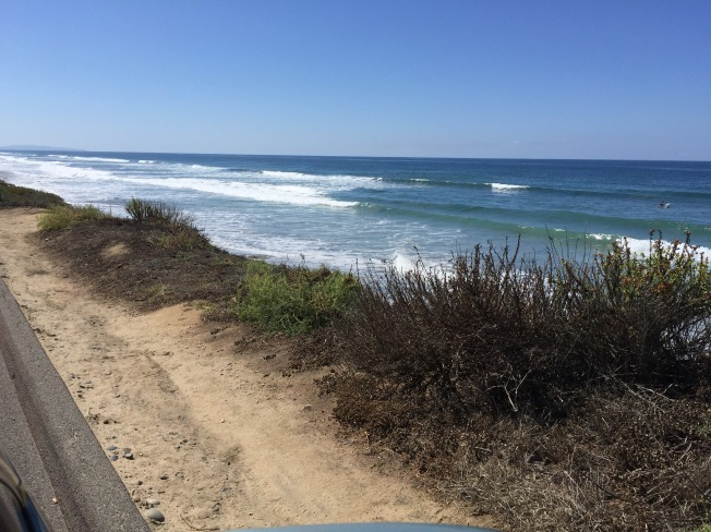 So. Carlsbad Beach in So California